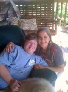 Barbara and Joanie