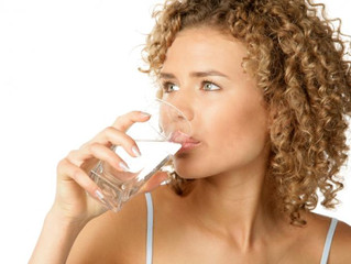 Get Glugging! Water is the key to health and wellbeing and it's free!