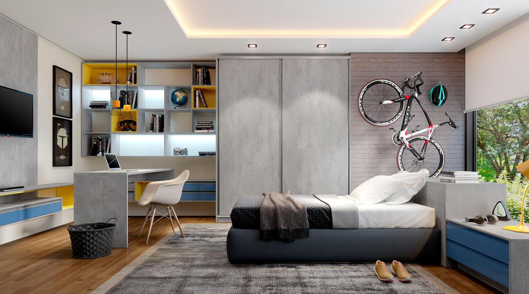 Linha Premium Dormitório Solteiro