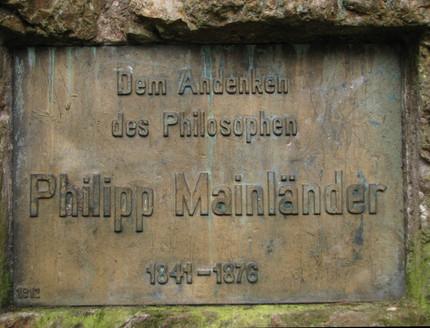 Mainländer: estética de la liberación