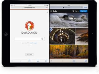 在iPad上同時開啟兩個Safari瀏覽網頁 - Sidefari