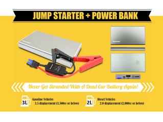 自己冇電自己救-Imazing IM5 Jump Starter + PowerBank