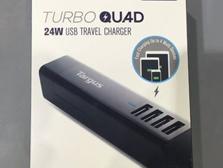 Targus TurboQuad USB 旅行充電器