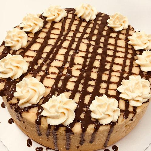Peanut Butter Sugar-free Keto -Compliant Cheesecake