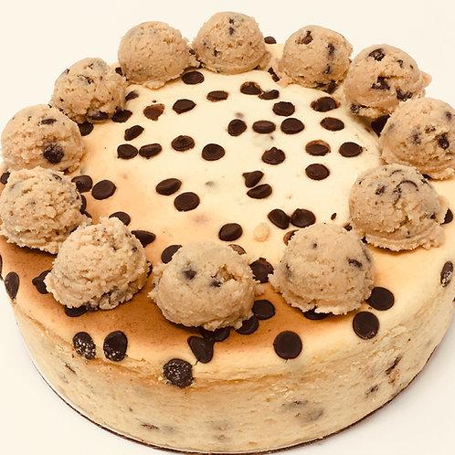 Cookie Dough Sugar-Free Keto-Compliant Cheesecake (GF)