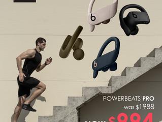 【Powerbeats Pro真無線耳機 FOXX限時半價優惠!】