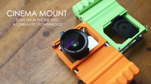 KOZIRO Cinema Mount - 變身專業攝影師