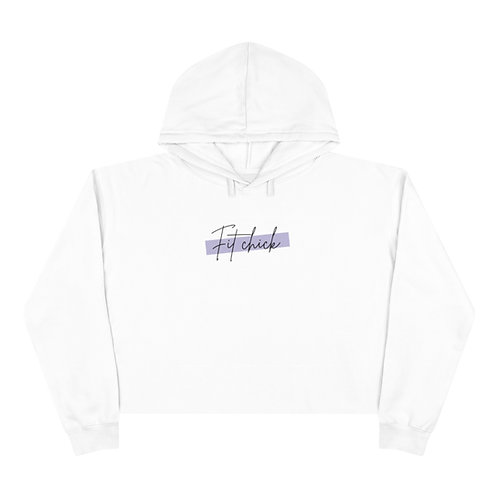 The Fit Chick Cropped Hoodie