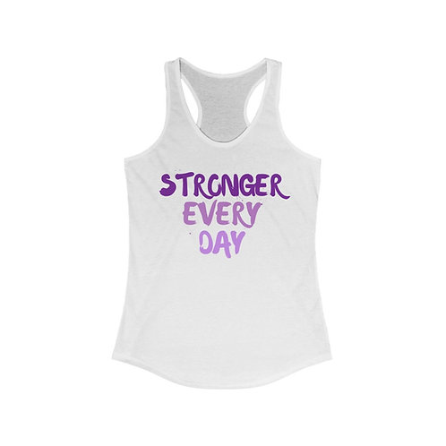 The Strong Chick Racerback Tank