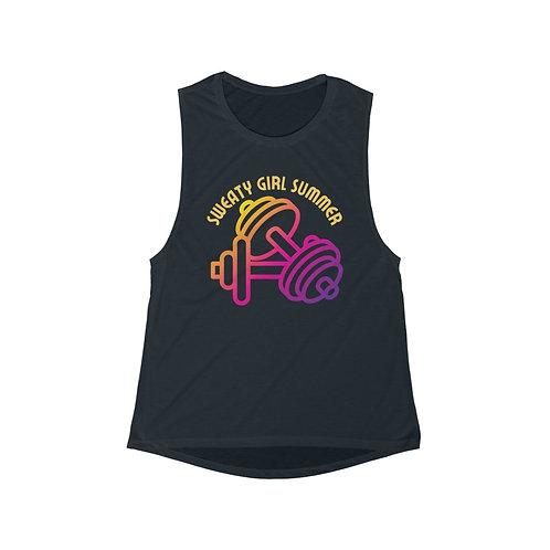 Sweaty Girl Summer Muscle Tank