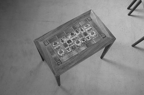 Tile Top Table Rosewood / Severin Hansen Jr.