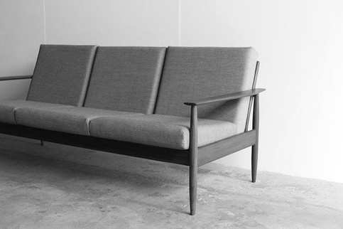 Sofa 3-seater Teak
