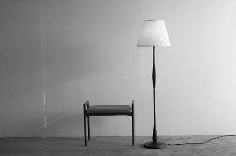 Floor Lamp Rosewood