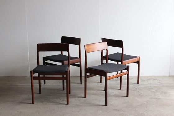 Chair Set Rosewood / Johannes Norgaard