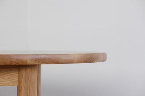 Oak Round Table / klart original