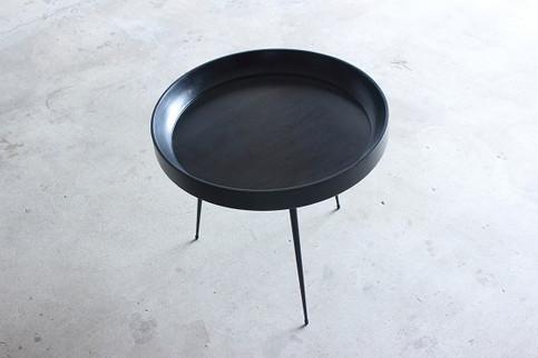 Bowl Table Black Large