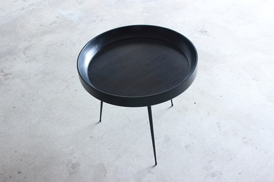 Bowl Table Black Large