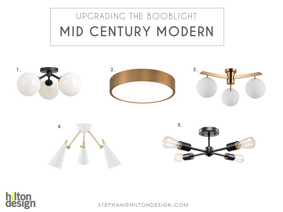 MID CENTURY MODERN BOOB LIGHT