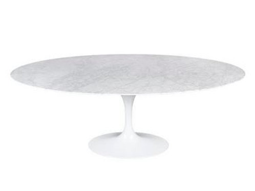 FLUTE DINING TABLE OVAL