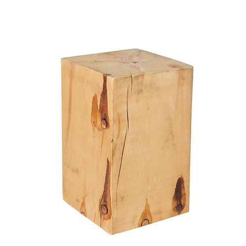 SALISH SQUARE STUMP NATURAL