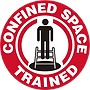 Confined Space Trained logo
