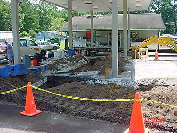 Gas Station UST Removal