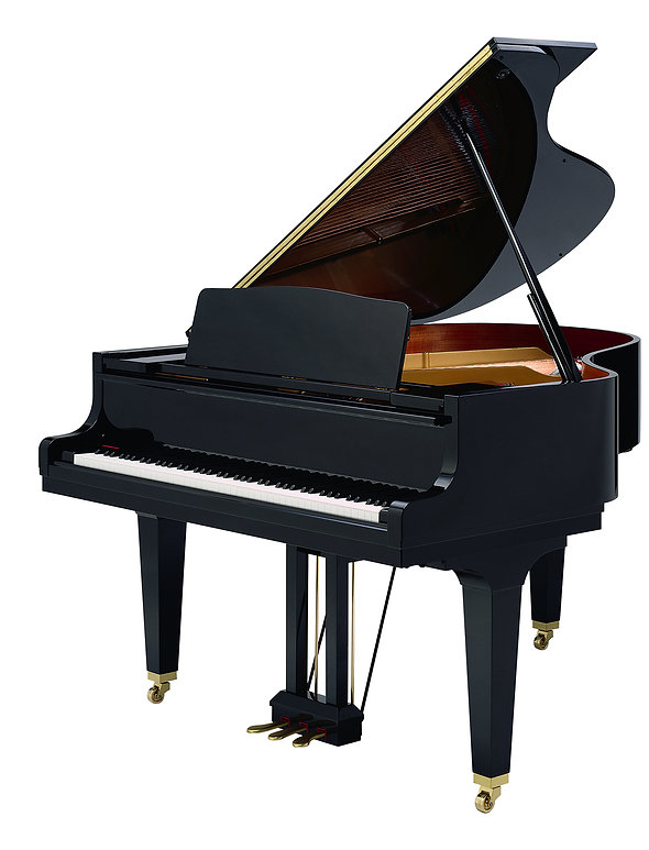 classic musical instrument black piano i