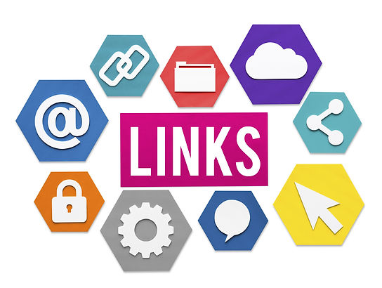 Links Internet Connection Sharing Concep