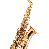 Saxophone -  Golden alto saxophone classical instrument isolated on white_edited.jpg