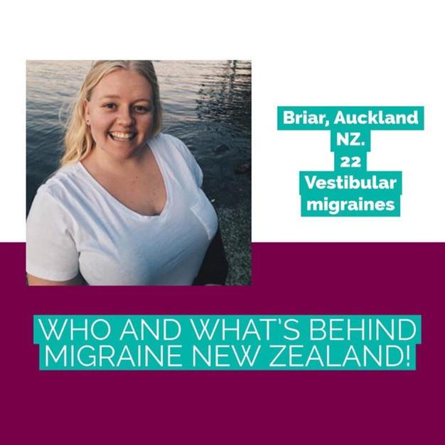 Briar | Migraine New Zealand | Get Healthy Hope | Vestibular Migraine | VEDA Ambassador