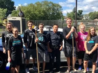 NMCS sophomores serve the community