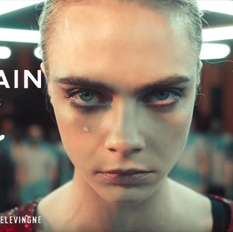 Introducing #PUMAxBALMAIN created with Cara Delevingne | PUMA