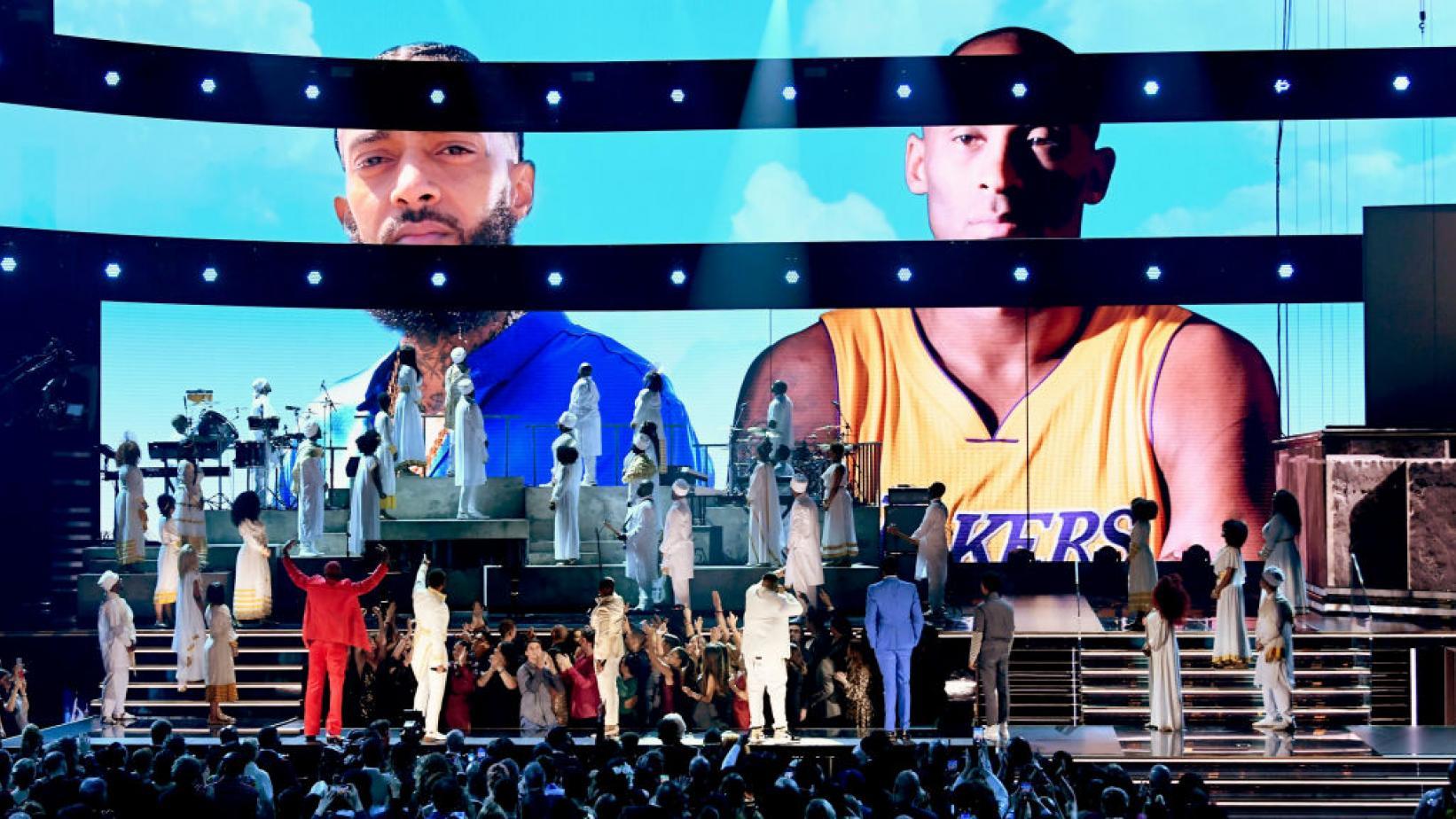 Grammys 2020 Nipsey Hussle Tribute