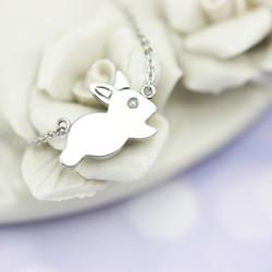 奔跑吧兔兔項鍊