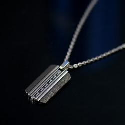 圖騰軍牌項鍊