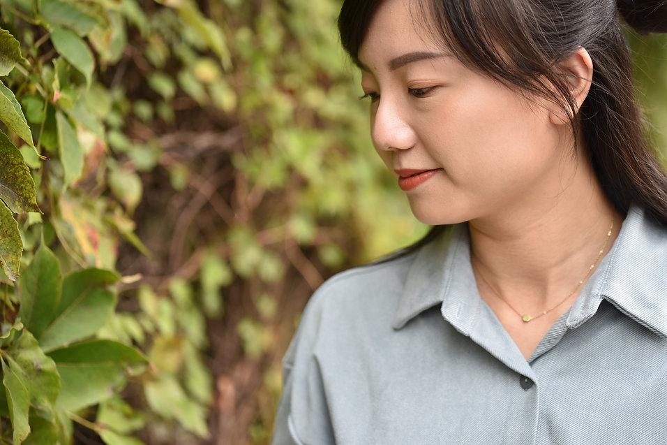 SUS-小圓項鍊-玫金 (9).JPG