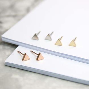 三角耳環 I 醫療鋼