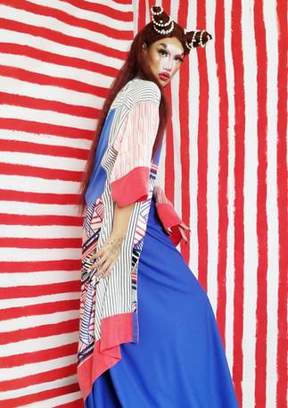 Carlota and a Kimono