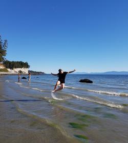 beach happy