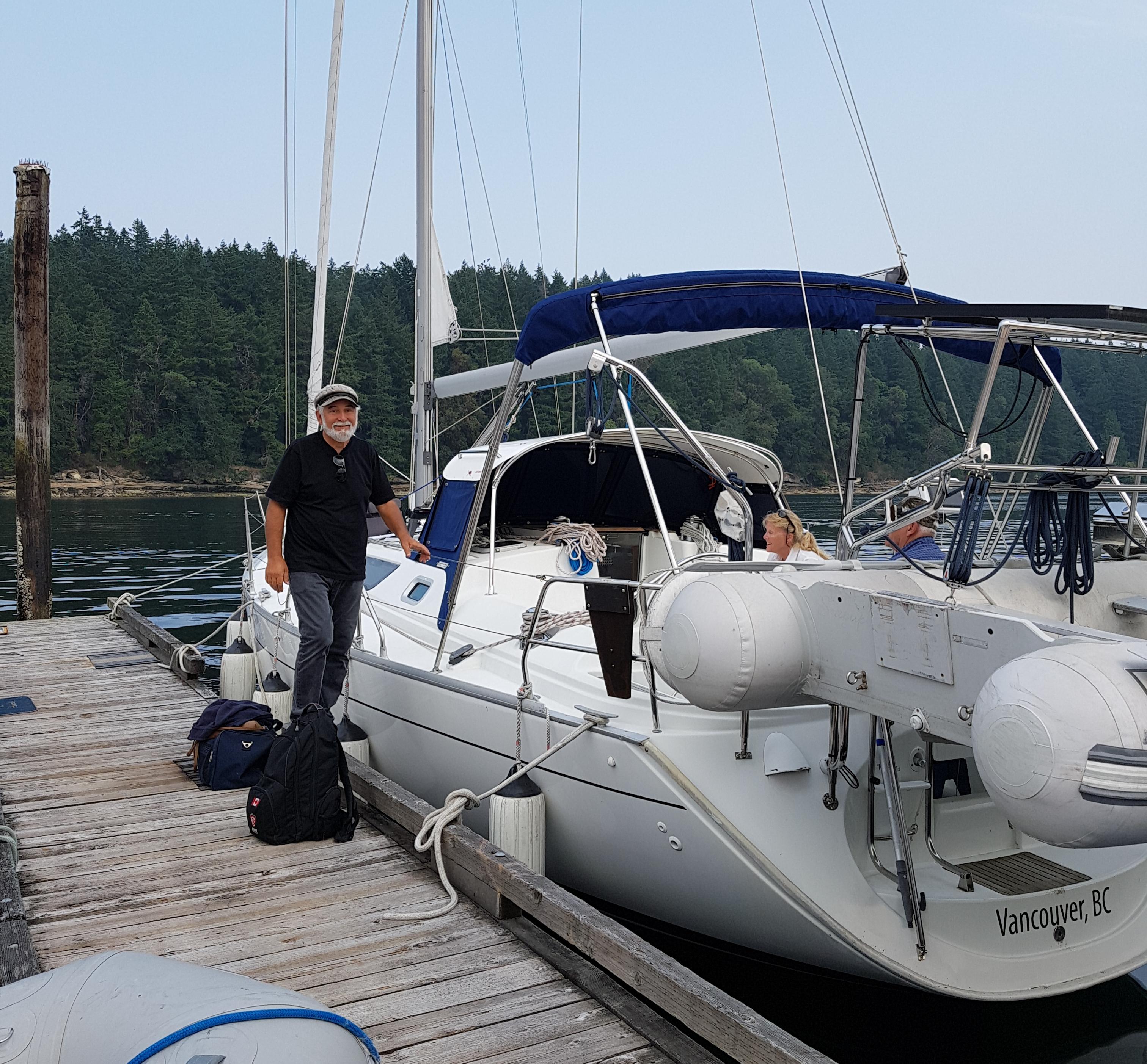 Newcastle Island dock