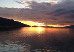 Sailing Sunset 2015