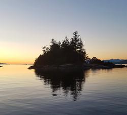 Thornmanby Island twilight