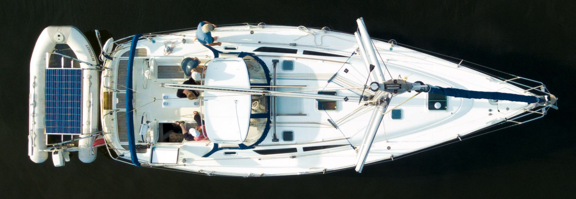 From the top of the mast
