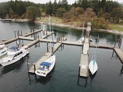Newcastle Island docks