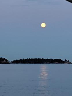 Moonrise over Popham - Christin