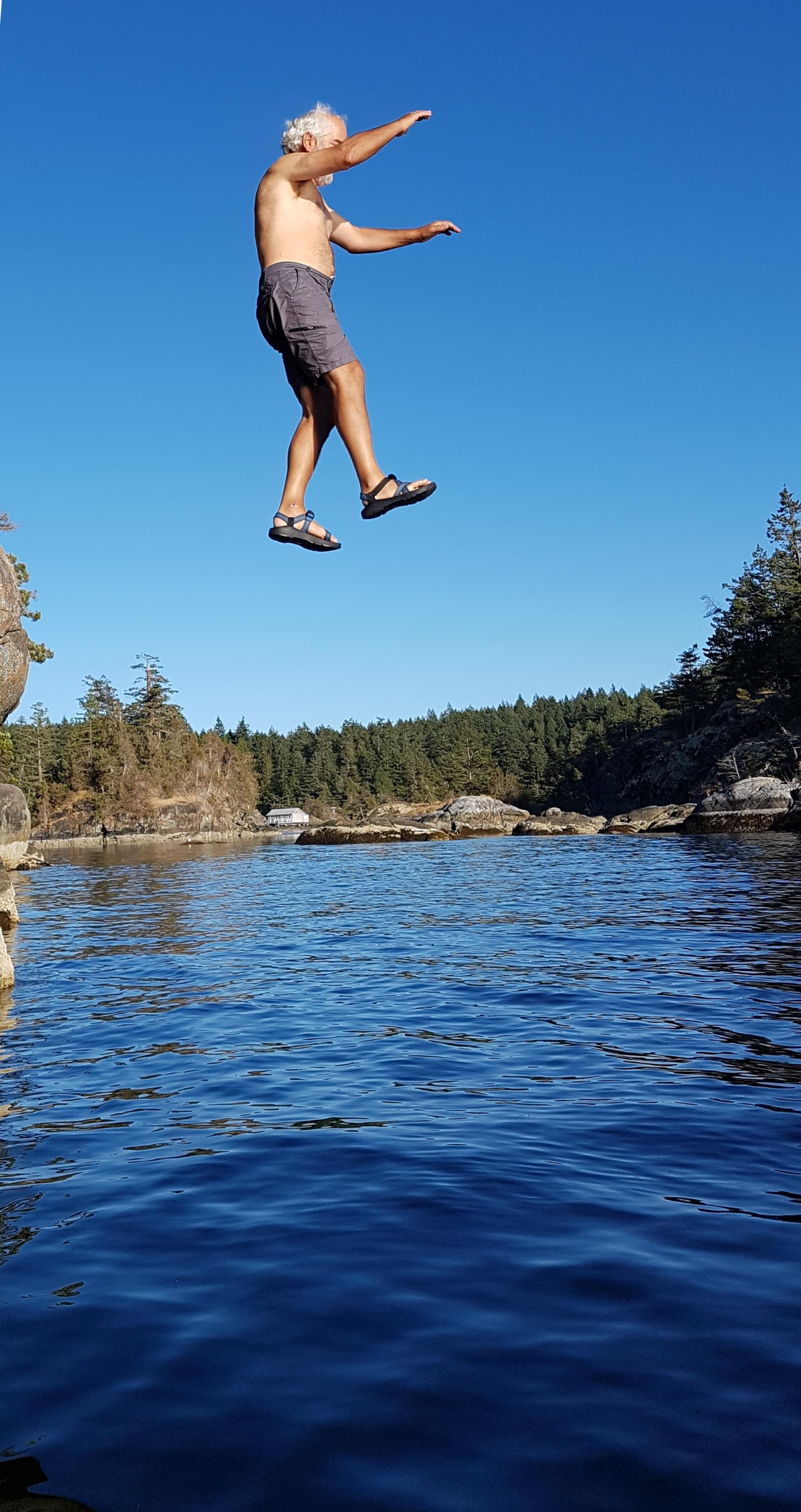 No problem, just jump...
