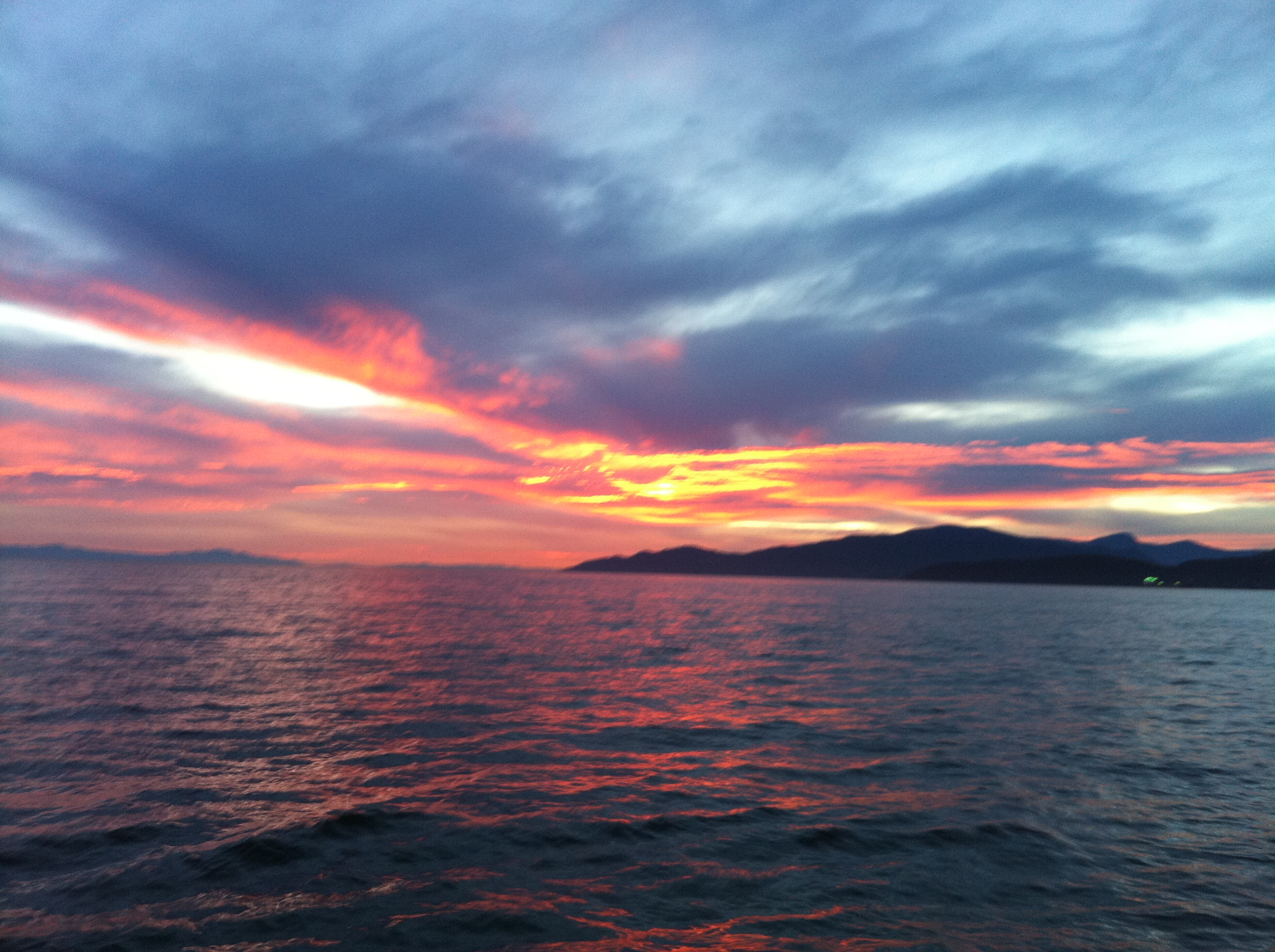 Georgia Strait Sunset 1