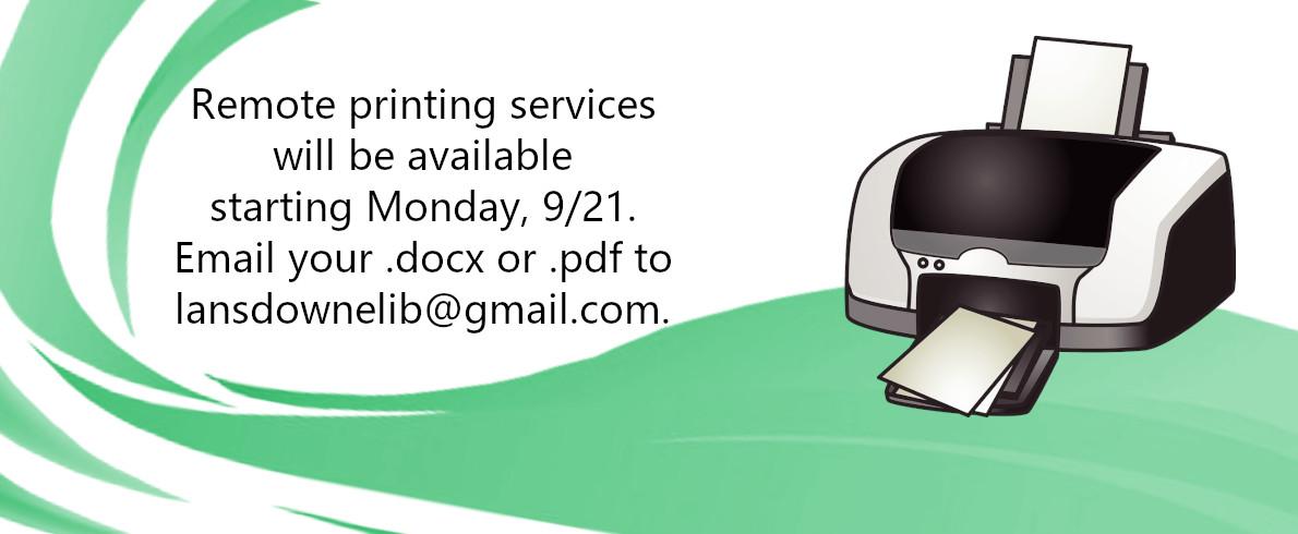 Printing Slider