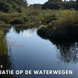 Situatie op de waterwegen - Updates