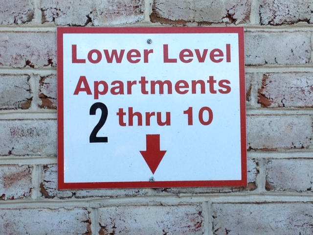 Sign a (Lower Level 2-10)